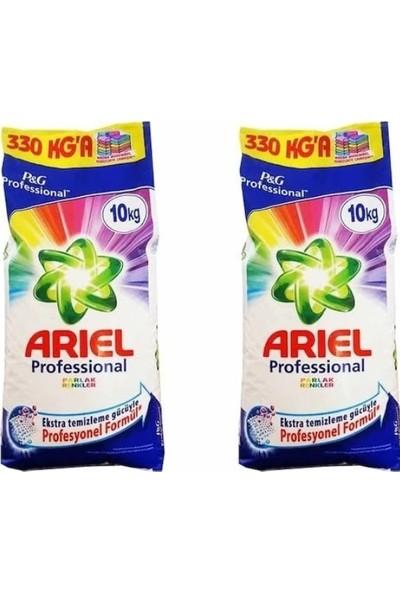 Ariel Parlak Renkler 10 kg 2'li