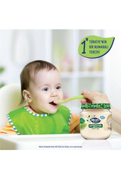 Hero Baby Organik Sütlaç Kavanoz Mama 120g