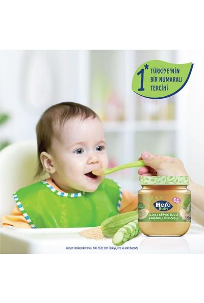 Hero Baby İlikli Kemik Sulu Kabaklı Pirinçli Kavanoz Mama 120g