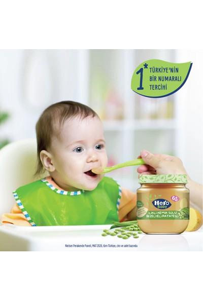 Hero Baby İlikli Kemik Sulu Bezelyeli Patatesli Kavanoz Mama 120g