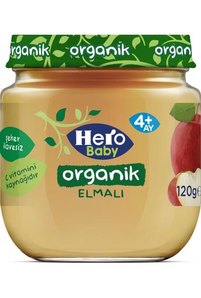 Hero Baby Organik Elma Püresi Kavanoz Mama 120g