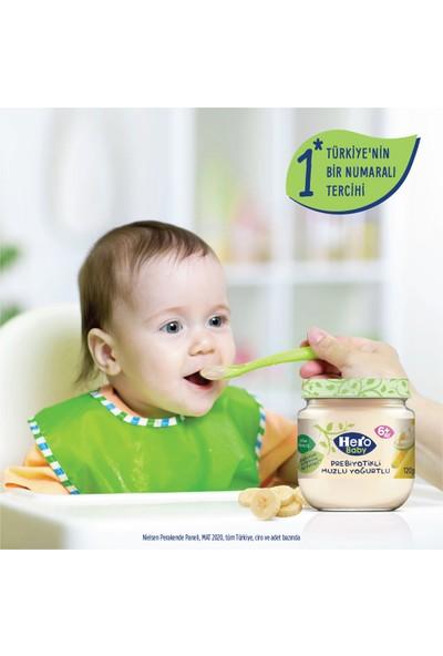 Hero Baby Prebiyotikli Muzlu Yoğurtlu Kavanoz Mama 120g