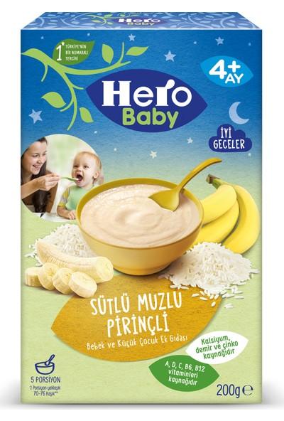 Hero Baby Sütlü Pirinçli Muzlu Kaşık Mama 200g