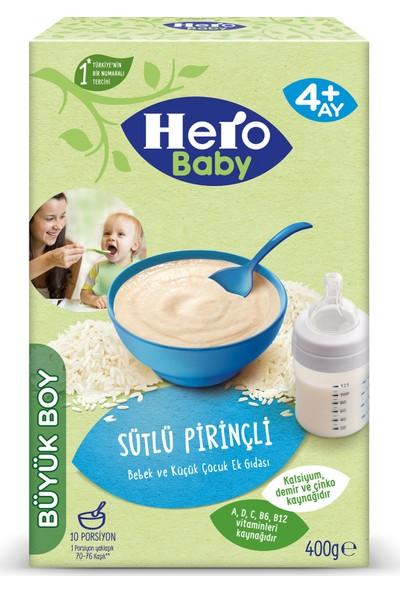 Hero Baby Sütlü Pirinçli Kaşık Mama 400g