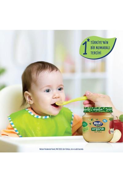 Hero Baby Organik Elmalı Kavanoz Maması 120g – 6' lı