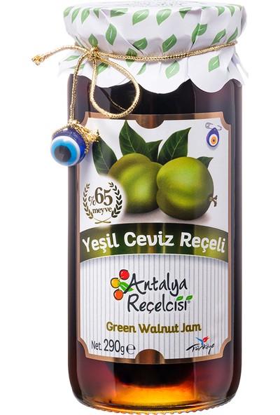 Antalya Reçelcisi Yeşil Ceviz Reçeli %65 Meyve Gurme Serisi