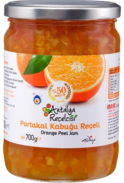 Antalya Reçelcisi Portakal Kabuğu Reçeli %50 Meyve Klasik Seri 700 Gr