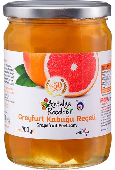Antalya Reçelcisi Greyfurt Kabuğu Reçeli %50 Meyve Klasik Seri 700 Gr