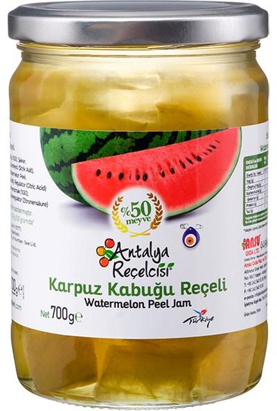 Antalya Reçelcisi Karpuz Kabuğu Reçeli %50 Meyve Klasik Seri 700 Gr