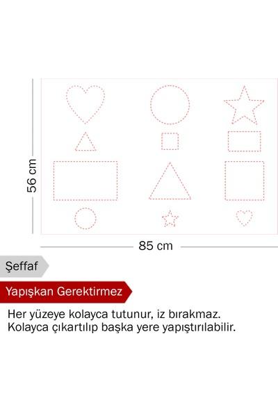 Evbuya Çizgi Çalışması Akıllı Kağıt 85 x 56 cm