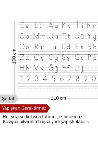 Evbuya Harfli Klavuz Elakin Akıllı Kağıt 120 x 100 cm