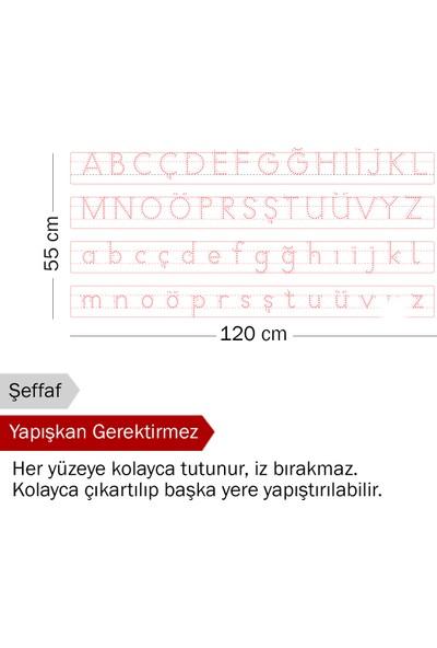 Evbuya Harfli Klavuz Akıllı Kağıt 120 x 55 cm