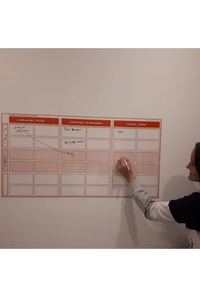 Evbuya '' To Do List '' Akıllı Kağıt 52 x 100 cm