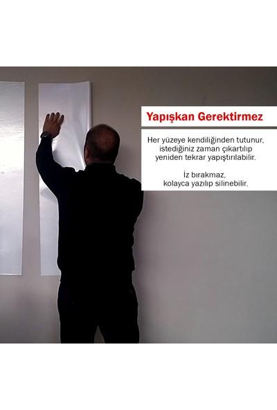 Evbuya Beyaz Akıllı Kağıt Tahta 50 x 70 cm 5'li
