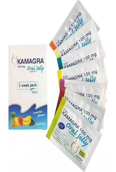 Kamagra Meyveli Jel 100 Mg