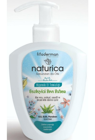 Fito Derman Naturica Besleyici Sıvı Sabun 400 ml