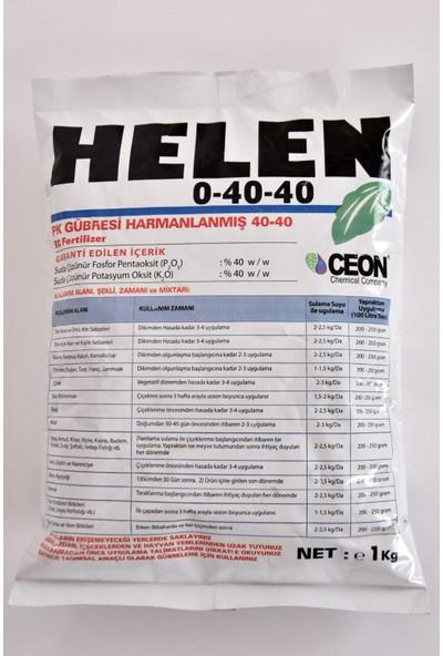 Helen 0-40-40 Pk Gübresi Harmanlanmış 1 kg