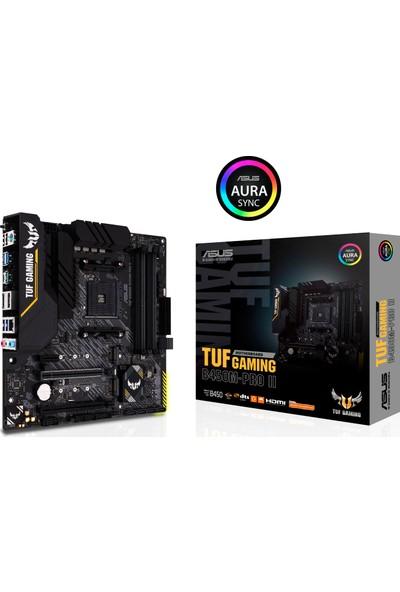 Asus TUF Gaming B450M-PRO II AMD B450 AM4 DDR4 4400MHz Micro ATX Anakart