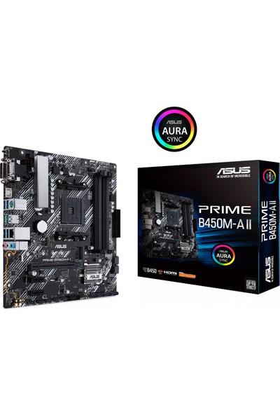 Asus Prime B450M-A II Amd B450 DDR4 4400 MHz (OC) Am4 mAtx Anakart