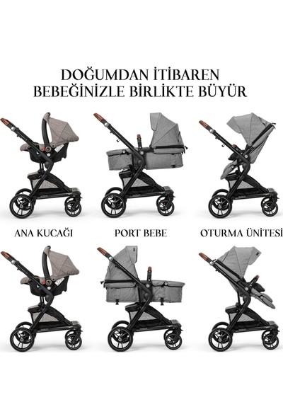 Elele Allroad 2 Travel Sistem Bebek Arabası Gri