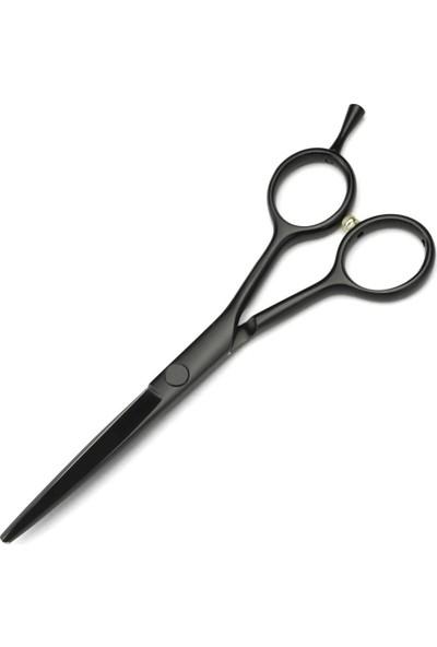 Katze Solingen 1037 6 Inç Profesyonel Çelik Kuaför Makası Siyah Mat