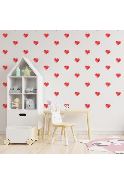 Artikel Küçük Karalama Kalpler Duvar Stickerı