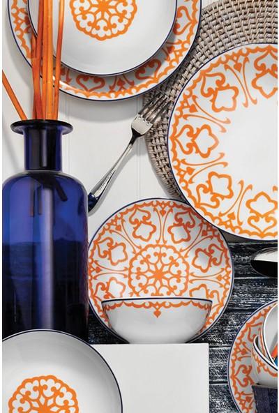 Kütahya Porselen 596617 Dekor 24 Parça Yemek Takımı