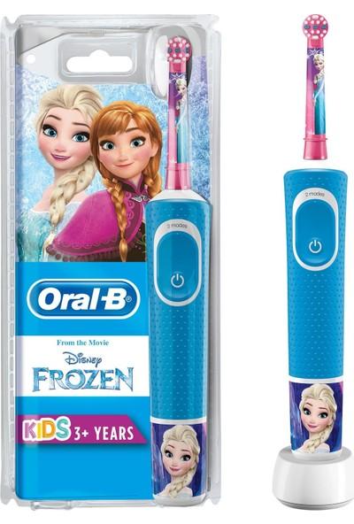 Oral-B Çocuklar Için Şarj Edilebilir Diş Fırçası D100 Frozen Özel Seri