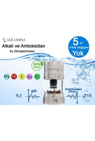 Alkamina Doğal Alkali ve Antioksidan Su Arıtma ve Minerallendirme Cihazı