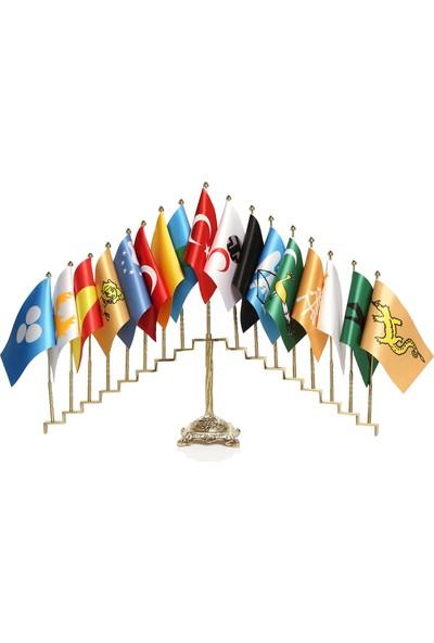 Ekin Bayrakçılık Eski Türk Devletleri 17Li Kaide