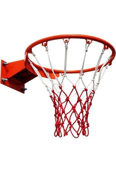 Vertex Renkli Basketbol Filesi Floş Ipli 6mm Iki Adet