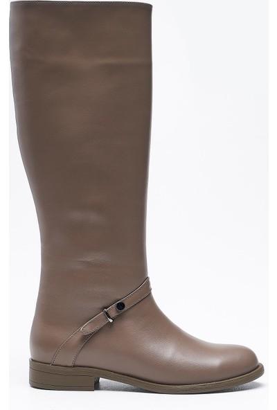 Louis Agave Vizon Deri Kadın Çizme