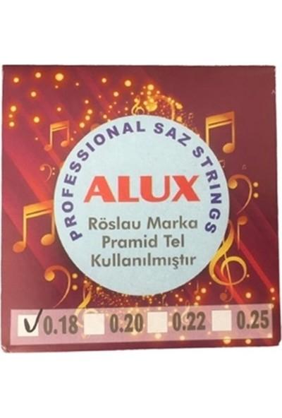Alux ALX018P Bağlama Teli Kısa Sap Pramid