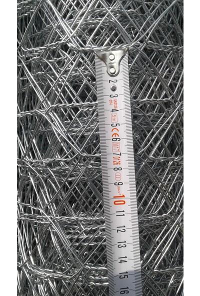 Drl Bahçe Çit Teli 1,5mt Yükseklik*20 mt Uzunluk -1,4 mm Kalınlık 7*7 Göz Aralık -