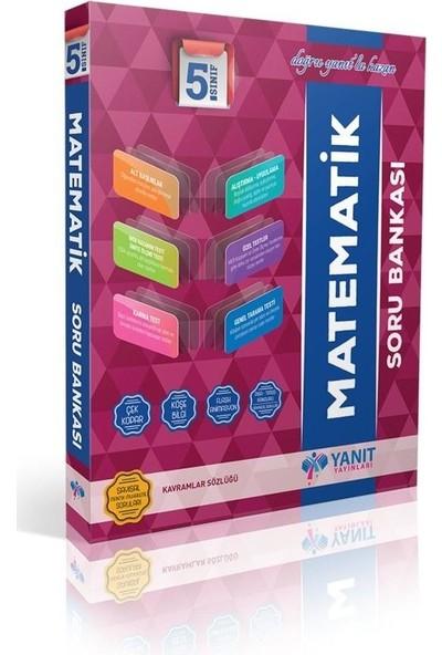 Yanıt Yayınları 5. Sınıf Soru Bankası Türkçe - Matematik