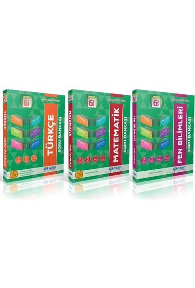 Yanıt Yayınları 6. Sınıf Soru Bankası Seti - 3 Kitap