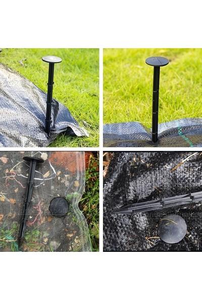 Bahçem Sera ve Güneşlik Plastik Tırnaklı Sabitleme Kazığı 20 cm 10'lu