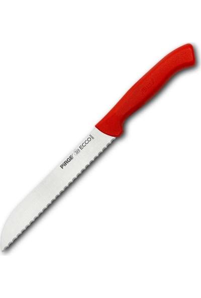 Pirge Ecco Ekmek Bıçağı Pro 24 cm Kırmızı
