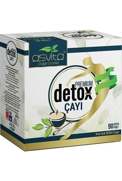 Asvita Premium Detoks Çayı 90'lı Süzen Poşet