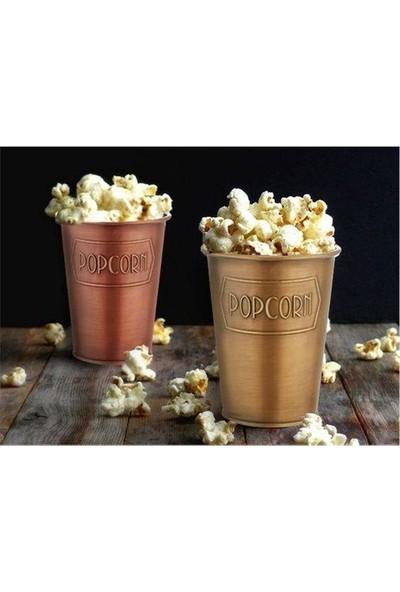 The Mia Popcorn Kovası Bakır Eskitme