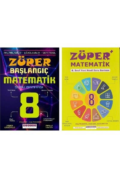 Platon Yayınları Züper Matematik Züper Başlangıç Soru Bankası 2 Kitap