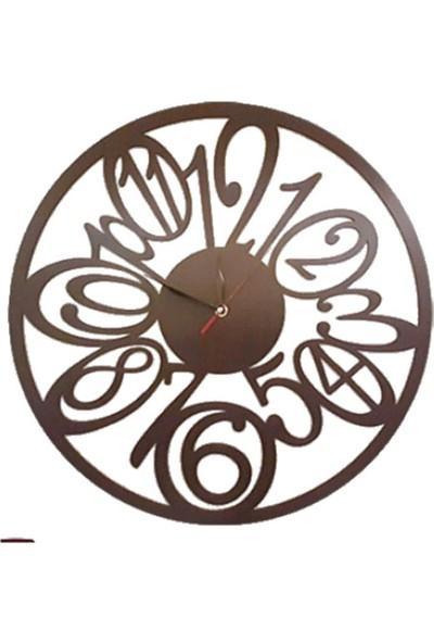 Tsd Dekorasyon Lazer Kesim Duvar Saati