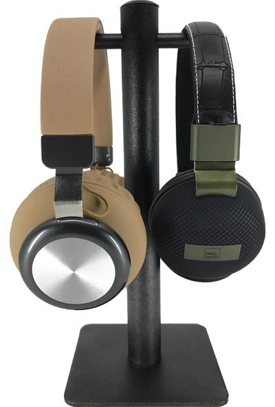 Nettech Masaüstü Çiftli Kulaklık Standı - Oyuncu Kulaklık Standı