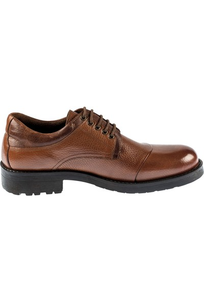 Fosco Taba Deri Kauçuk Taban Sıcak Astar Kışlık Erkek Ayakkabı 7520 771 603