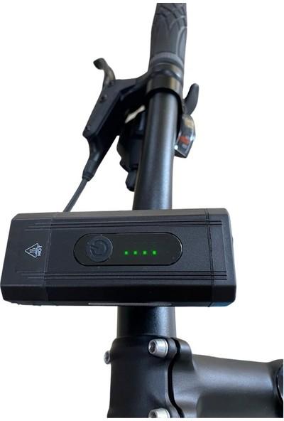 Xbyc 6127 800 Lumen Bisiklet Ön Lamba Far Aydınlatma USB
