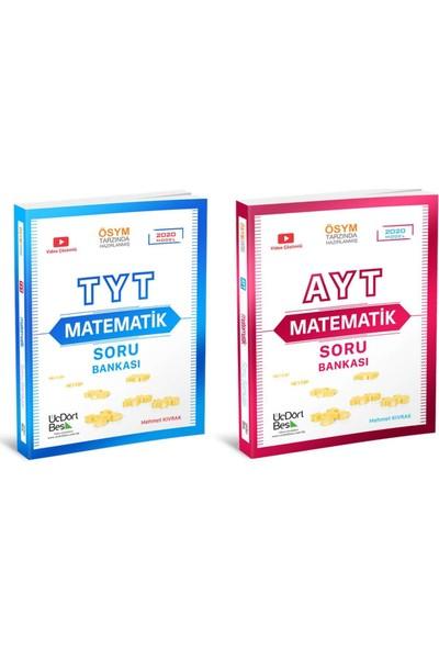 Üç Dört Beş Yayıncılık TYT Matematik & AYT Matemetik 2'li Set
