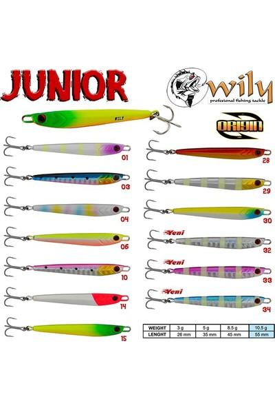 Wily Junior Jig 10,5gr 5,5mm CL34