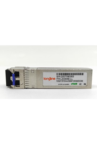 Longline JD094B X130 10G Sfp+ Lc Lr 1.25G 1310NM Transceiver For Hp