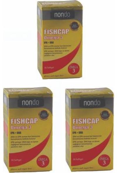Nondo Fıshcap Omega 3 Epa + Dha 50 Softgel 3 Adet