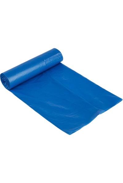 Kupa 80X110 Mavi Çöp Torbası 700 gr 10 Rulo- (Rulo Içi 10'lu)